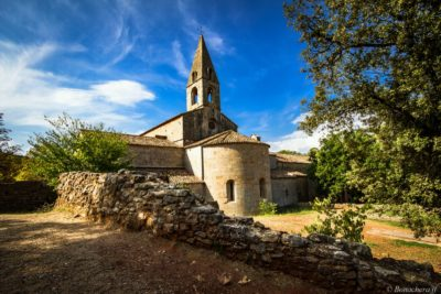 Abside de l'abbaye du Thoronet (Var)
