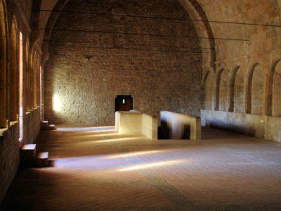 Abbaye du Thoronet (dortoir)