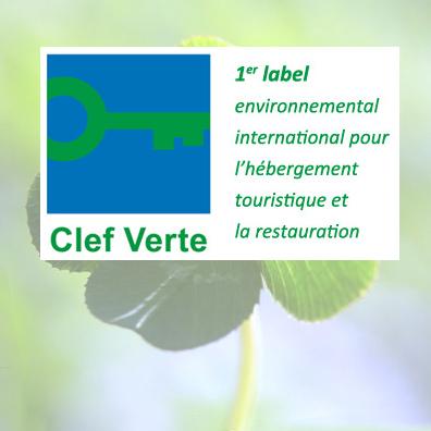 Le camping est titulaire du label Clef Verte