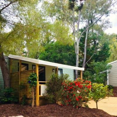 Location de Mobile-homes neufs au Camping de La Pascalinette®