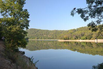 Le lac de Carcès - Var camping