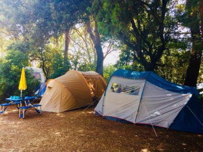 Camping écologique vacances tente Var