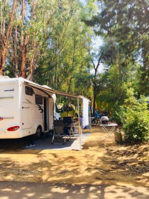 Camping La Londe camping-car emplacement