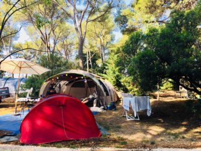 Camping parc aquatique emplacements Premium Var
