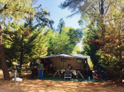 Emplacement tente caravane camping Var