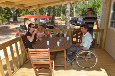 Mobile-home PMR camping accessible Handicap
