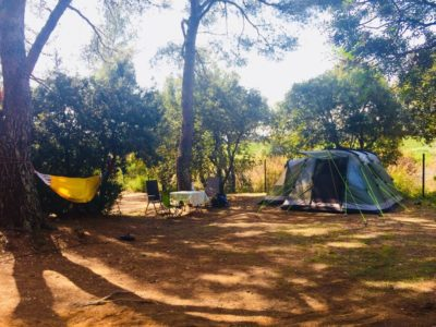 Emplacement Premium Extra Large de camping dans le Var