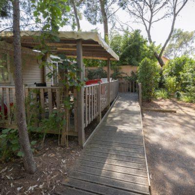 Location mobile-home haut de gamme PMR Var - Camping Tourisme et handicap