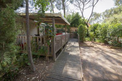Rampe PMR Mobile-home Camping La-Londe-les-Maures