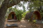 Vacances mini prix camping Var cabanes