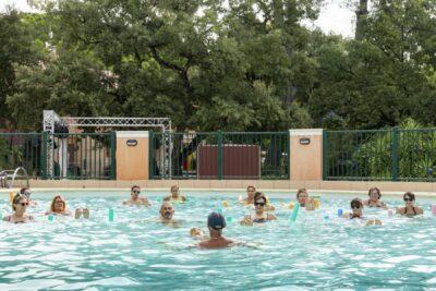 Piscine chauffée Bassins Aquagym Sport Vacances