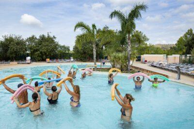 Lavandou Parc aquatique Cours collectifs Piscine Aquagym
