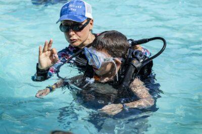 Piscine Baptême plongée Vacances Famille