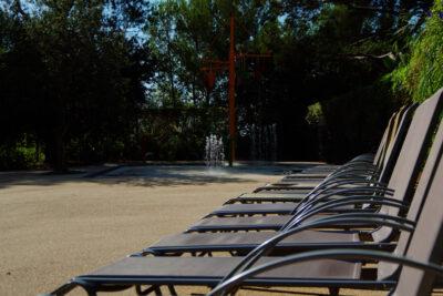 Lavandou Piscine Détente Transat Vacances Soleil