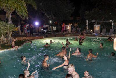 Côte d'Azur Soirée piscine Animation Pool party