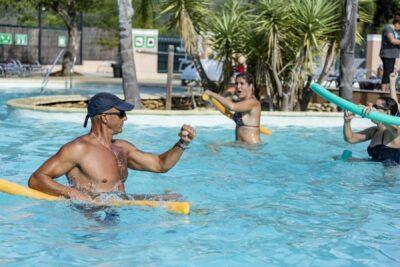 Aquagym Piscine Animation Sport Vacances