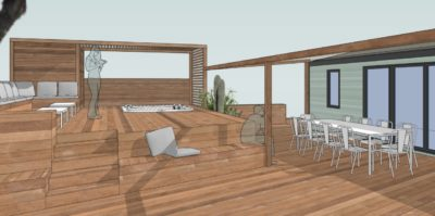 Apéritif en terrasse La Villa des Copains® dans le Var