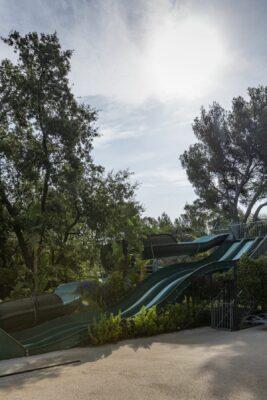 Littoral Parc aquatique Toboggan Animation enfant