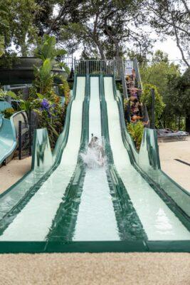 Bormes-les-Mimosas Parc aquatique Toboggan Vacances Jeux aquatiques