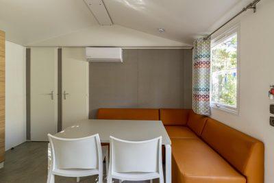 Mobile-home climatisé cuisine équipée La Londe