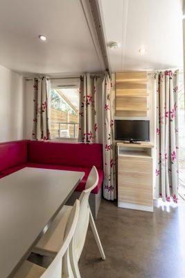 Camping Bormes les mimosas en Mobile-homes Premium