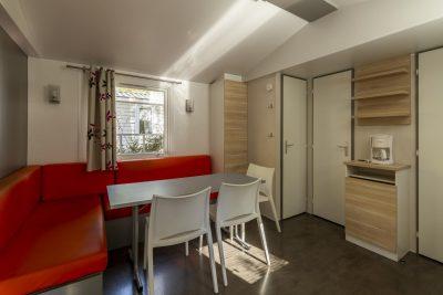 Mobile-home climatisé tout confort et économique