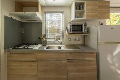 Mobile-home Climatisé Famille nombreuse Vacances Confort Petit prix