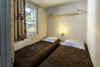 Location mobile-home climatisé - vacances hôtellerie de plein air