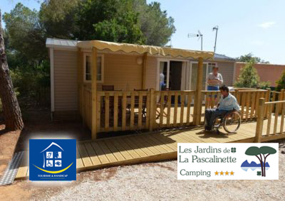 Camping Provence Accessible Handicap PMR