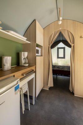 Bormes-les-Mimosas Location tente aménagée Vacances Confort Convivialité