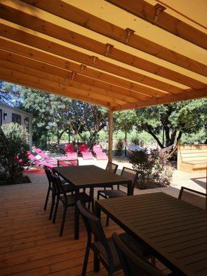 Camping Premium Hyères villa super luxe 10 personnes