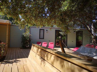 Vacances en camping jusqu'à 10 personnes en maison avec spa près des plages d'Hyères