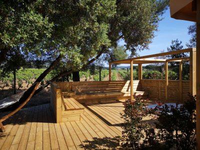 camping location premium villa spa copains Hyères