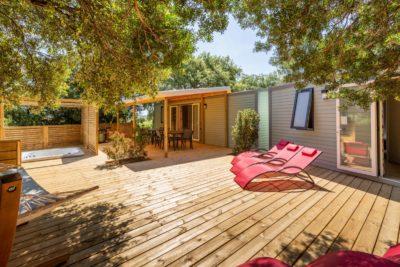 Location de maison luxe pour 10 personnes équipée d'un spa dans le Var