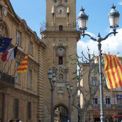Tourisme et balade à Aix-en-Provence à 1h15 du camping