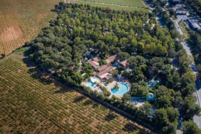 Camping du Var vert et écologique avec 4 piscines