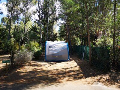 Emplacement pour tente ou caravane en camping 4 étoiles à la Londe
